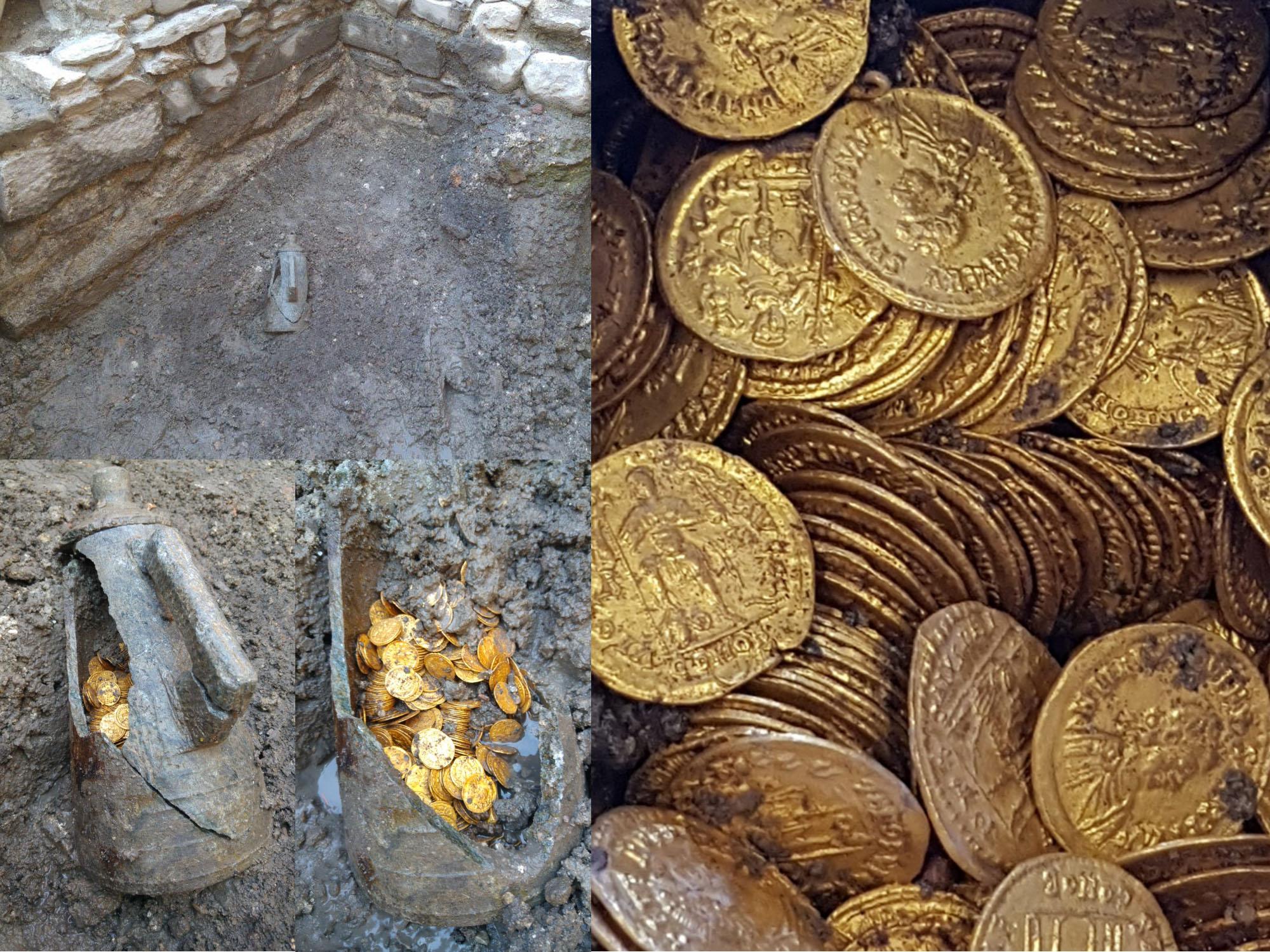 Клад древних монет